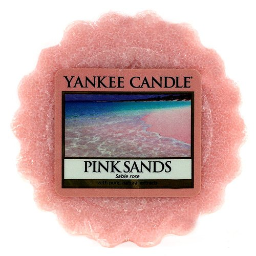YANKEE CANDLE - 1205363E - TARTELETTE EN CIRE PARFUMEE SABLE ROSE 22 G