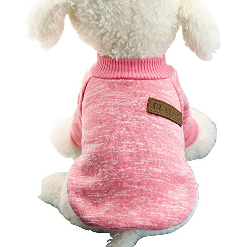 Pet Dog Classic Knitwear Sweater Warm Winter Puppy Pet Coat Soft Sweater Clothing For Small Dogs