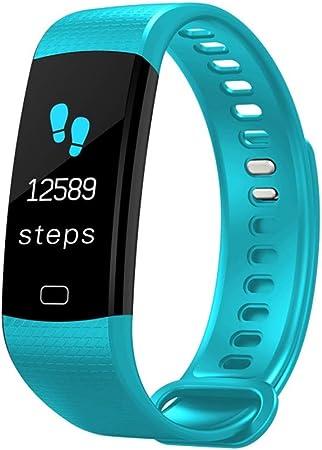 GBVFCDRT Smartwatch Electrónico Reloj Inteligente Mujeres Hombres Correr Ciclismo Escalada Deporte Reloj Podómetro de Salud Led Pantalla en Color ...
