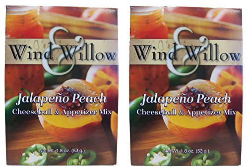 - Wind & Willow Savory Jalapeno Peach Cheeseball and Dip Mix (Pack of 2)