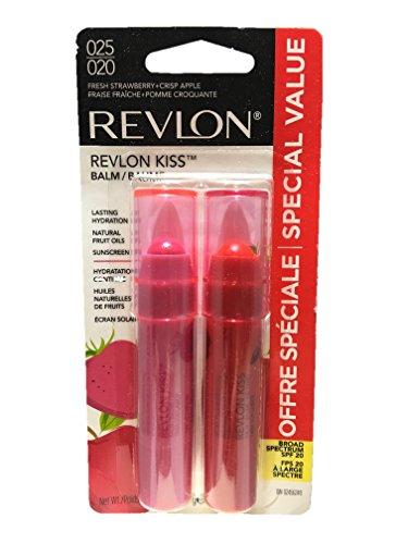 Revlon Kiss Lip Balm Fresh Strawberry & Crisp Apple