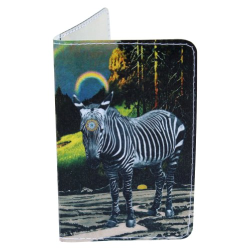 Zebra Magic Sri Yantra Gift Card Holder & Wallet