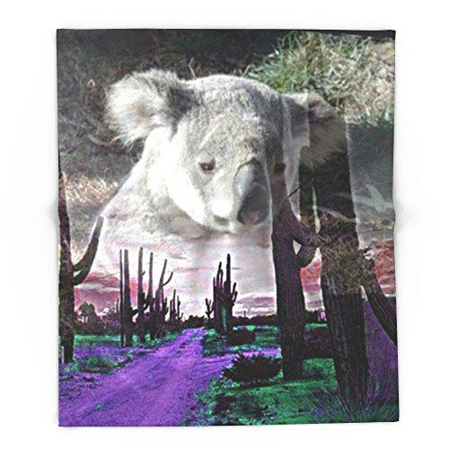 Society6 Magic Animals KOALA 88'' x 104'' Blanket by Society6