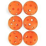 CSG Heavy Duty Regulation Size Poly Softballs - Set of 6! (ORANGE)