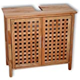 regal badregal standregal 5 b den aus walnuss holz amazon. Black Bedroom Furniture Sets. Home Design Ideas