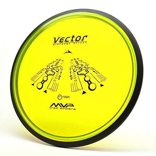MVP Disc Sports Proton Vector Disc Golf (175-179g / Colors May Vary)