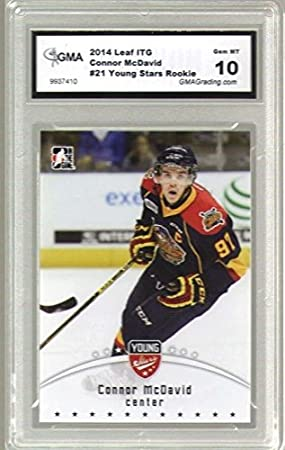 Connor Mcdavid 2014 15 Leaf Itg Young Stars Rookie Card 21