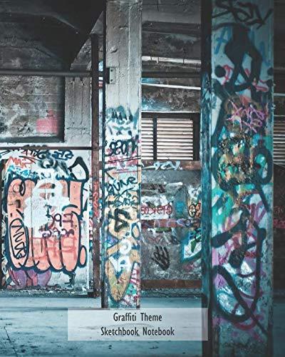 Graffiti Theme Sketchbook Notebook
