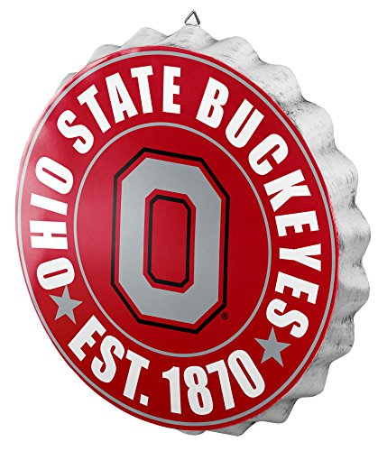 Ohio State 2016 Bottle Cap Wall Sign