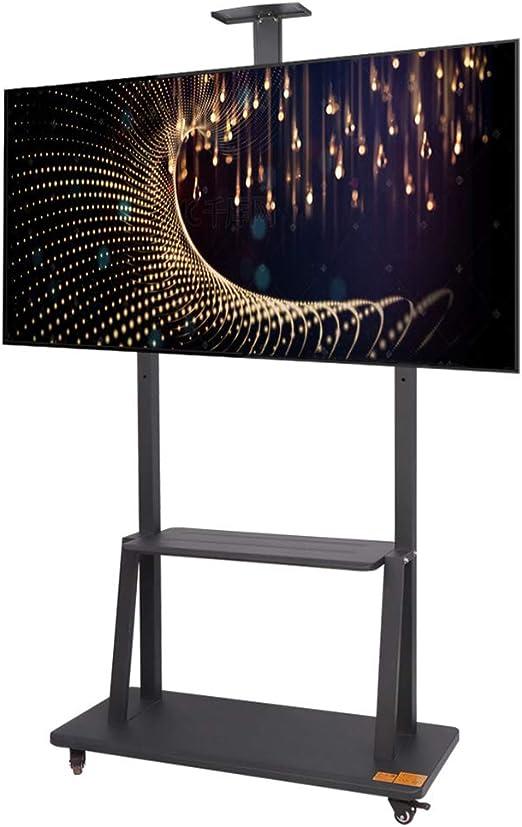 Hxx Soporte para TV móvil TV móvil para 40-75 Pulgadas de Altura ...