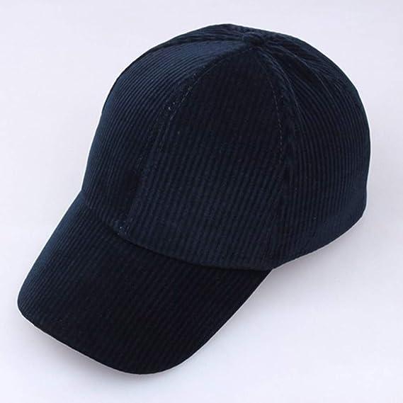 LOPILY Gorras de béisbol Color Sólido Sombrero de ala Ancha ...