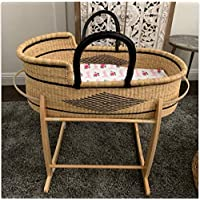 Moses basket for Baby | Baby bassinet bedside sleeper