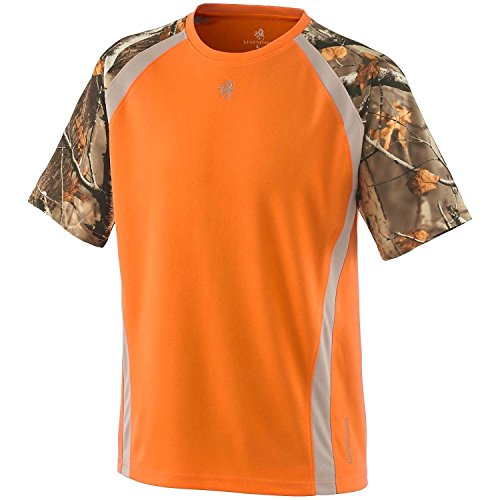 Legendary Whitetails Men's Counter Strike S/S Performance Tee Inferno Large