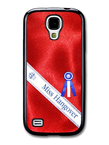 Funny Miss Hangover Parody Fashion Design on Red Dress Print coque pour Samsung Galaxy S4 mini