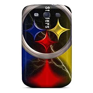ErleneRobinson Samsung Galaxy S3 Shockproof Hard Phone Cases Allow Personal Design Beautiful Pittsburgh Steelers Pattern [XLo29076qSEJ]