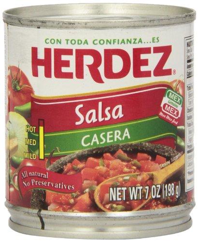 Herdez Salsa Casera, 7 Ounce Can (Pack of 12)