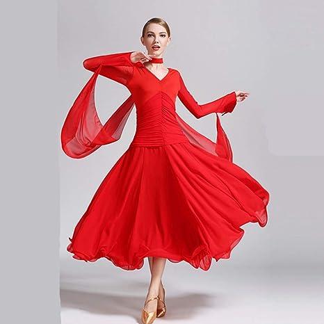 Liu Sensen Mujeres Danza Clásica Falda Latina Danza Vientre Trajes ...