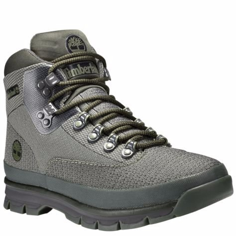 Timberland Mens Euro Hiker Round Toe Ankle Fashion Boots, Green, Size 8.0