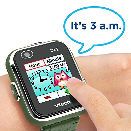 VTech Kidizoom Smartwatch DX2, Camouflage (Amazon Exclusive) by VTech (Image #4)