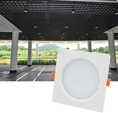 Qyyru Nordic Simple Home Downlight Decoración Arte Iluminación Proyector integrado integrado Protección de ojos Ambiental Aluminio Empotrable Downlight Ultra delgado/delgado 7W 15W LED Lámparas de t: Amazon.es: Iluminación