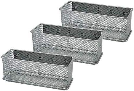 Amazon.com: Organizador magnético de oficina Set de 3 cubos ...