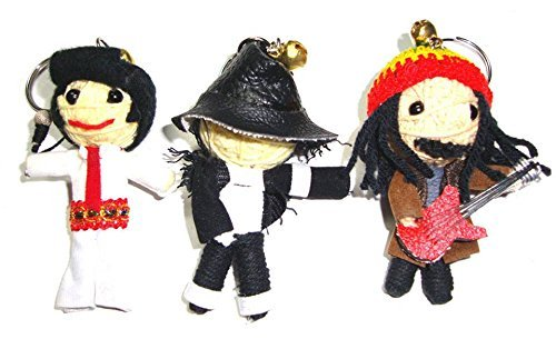 Michael Jackson, Elvis Presley, Bob Marley Triple Mini St...