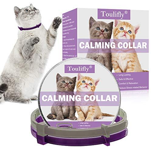 🥇 TOULIFLY Collar calmante para gatos