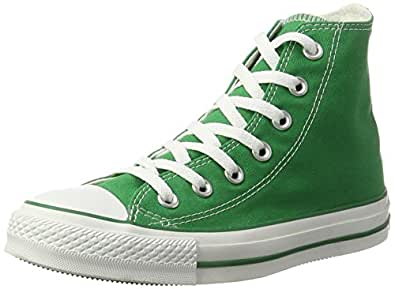 Women's Converse Chuck Taylor All Star Hi Top Kelly Green Canvas Shoes Womens 5
