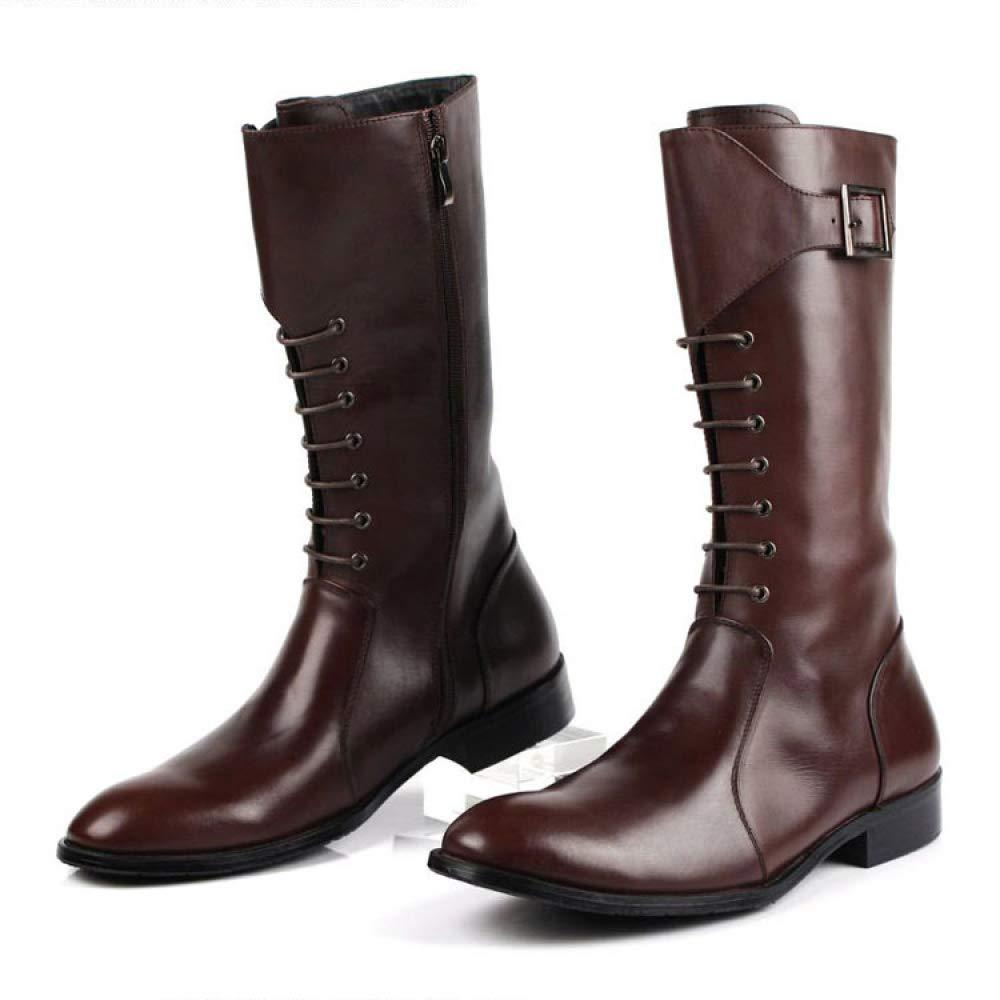 Herrenschuhe Martin Schuhe Hohe Stiefel Aus Leder Leder Leder High Rise Schnürung Trekking Work Utility Footwear fb02e6