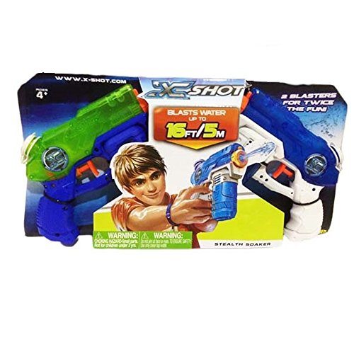 aster Gun Double Small Stealth Soaker (Spider Man Water Gun)