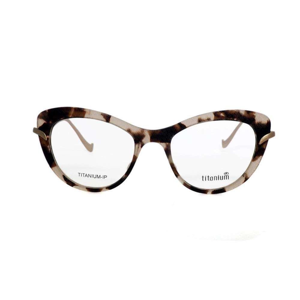 Multi Fashion Retro Cat Eye Women Pure Titanium Glasses Frames Candycolord Frame,MulticolordM