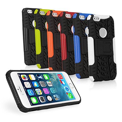 iPhone 6 Hülle BoxWave Resolute OA3 3-in - 1 Hybrid Flex/fest, mit drei widerstandsfähigen Schichten für optimalen Schutz Schutzhülle für iPhone 6 (Stark), Grün