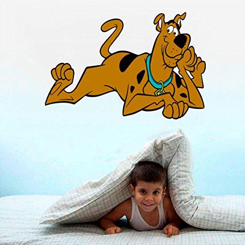 (Scooby doo WALL STICKER - BEDROOM ART KIDS MURAL 18