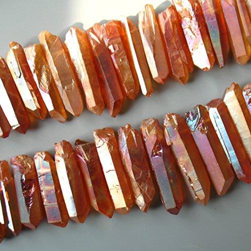 Titanium Quartz Crystal Necklace - 5