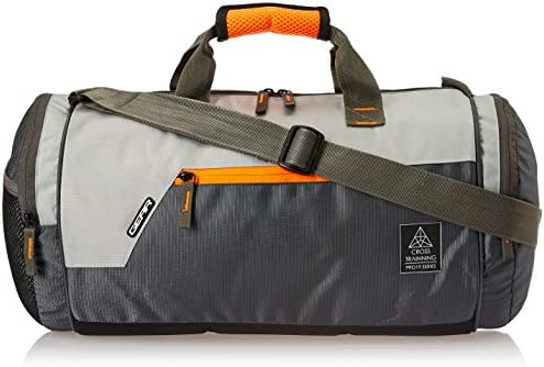 9516c2bd3cce Gear Polyester 38 cms Grey Travel Duffle (DUFCRSTNG0406)
