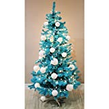 Homegear 6FT Artificial Turquoise Xmas / Christmas Tree