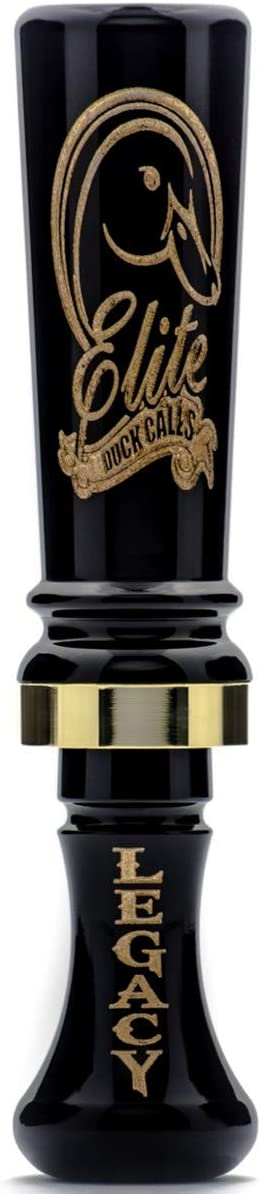 Elite Legacy Competition Duck Call Black
