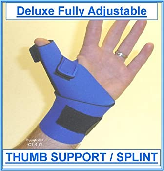 Deluxe Fully Adjustable THUMB SUPPORT / SPLINT, PINK