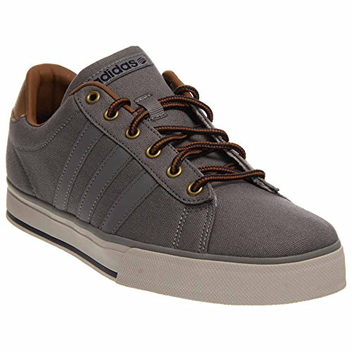 adidas Men's Daily Grey/Grey/Timber Sneaker 8.5 D - - Cheap Uk Adidas