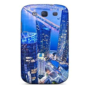 Tpu Protector Snap YHg1737Uswd Case Cover For Galaxy S3