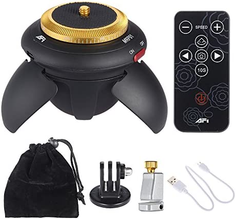 Afi Mrp01 Mini Tripod Head Electric 360 Rotation Kamera