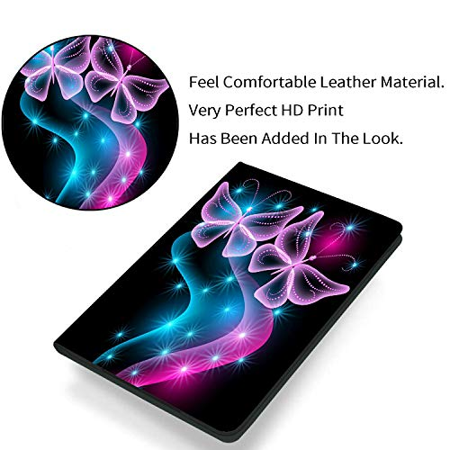 Fire HD 10 Case 10.1'' Tablet Case (2019/2017,9th/7th Gen),AIRWEE Ultra Slim PU Leather Multi Angle Folio Stand Smart…
