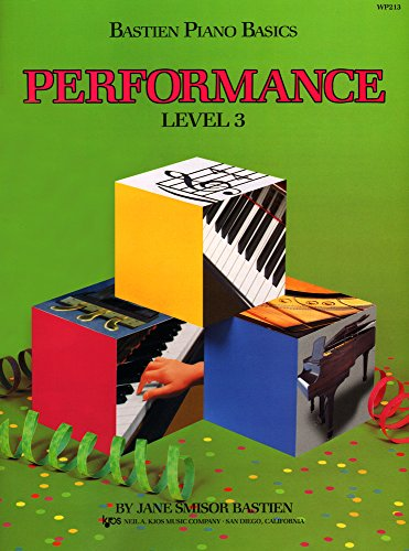 WP213 - Bastien Piano Basics - Performance Level 3 (Great Players Piano)