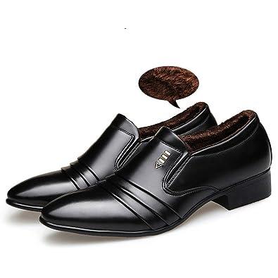 Mocasines para Hombres Zapatos de Negocios con Estilo Oxford Zapatos de Boda: Amazon.es: Zapatos y complementos