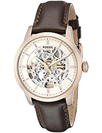 Men's ME3078 Townsman Analog Display Automatic Self Wind Brown Watch
