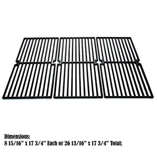 Direct store Parts DC110 Porcelain Cast Iron Cooking grid Replacement Brinkmann, Charmglow Gas ()