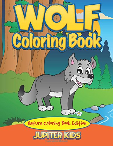 Wolf Coloring Book Nature