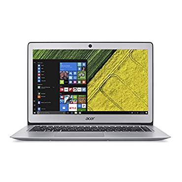 Acer Swift 3 SF314-51-52W2 Notebook with 14 Full HD Screen, Intel Core i5-6200U, 8GB DDR4 RAM, 256GB SSD, Windows 10