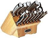 Cuisinart C77SS-19P Normandy 19 Piece Cutlery Block Set, Stainless Steel