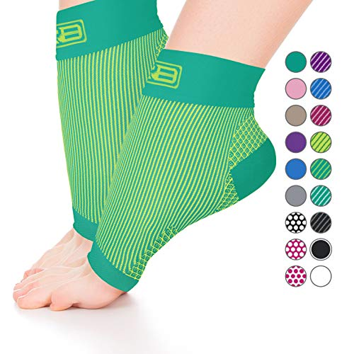 Plantar Fasciitis Sock, Compression Socks for Men Women - Best Ankle Sleeve for Arch Support, Injury Recovery and Prevention - Relief from Joint and Foot Pain, Swelling, Achy (Best Plantar Fasciiti Sock)